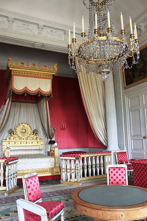 Royal bedrooms at Versailles